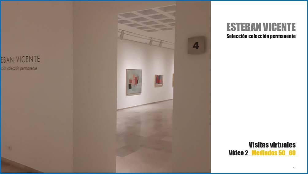 Visita virtual Museo Esteban Vicente