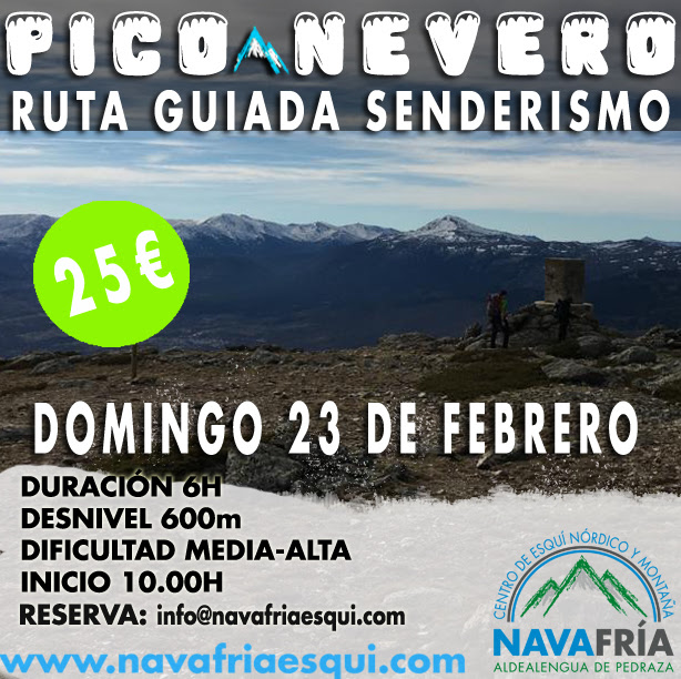 Navafría. Pico Nevero. 23 feb