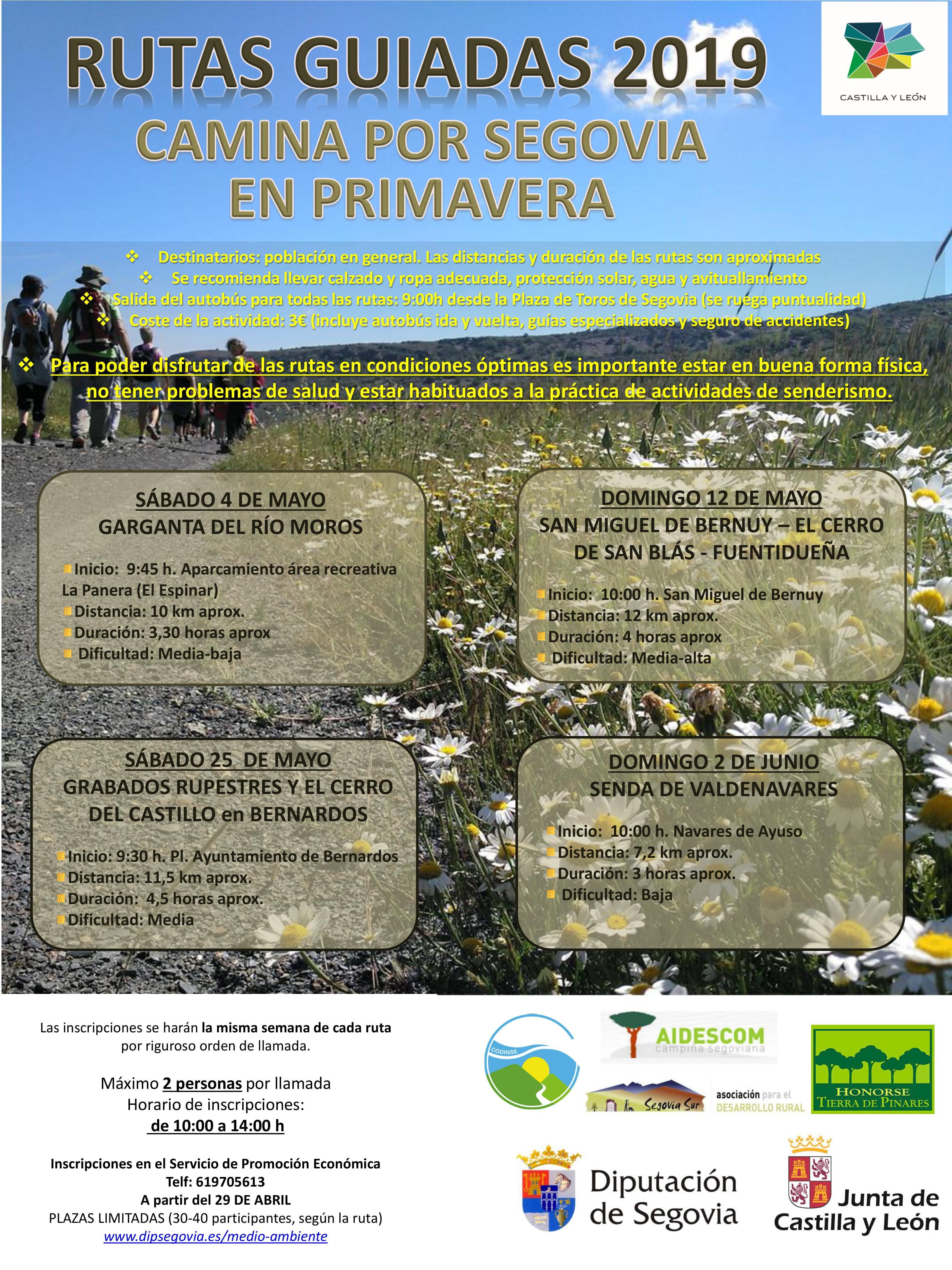 4afba5e5c5e Rutas guiadas  Camina por Segovia en Primavera